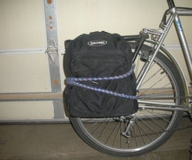 No-Weld Rear Bike Rack  and Pannier System Example