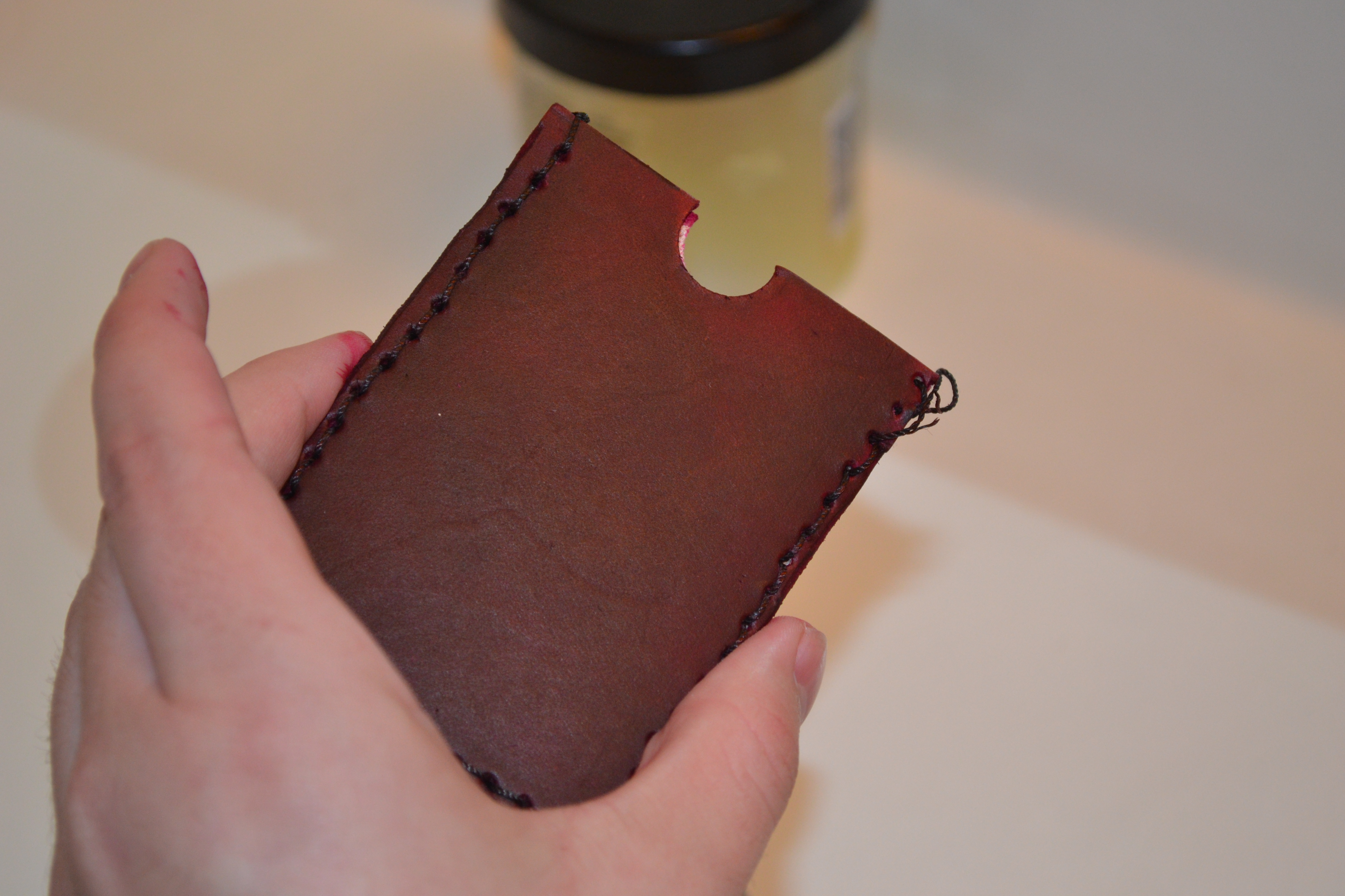 Picture of Leather Gift Card Holder