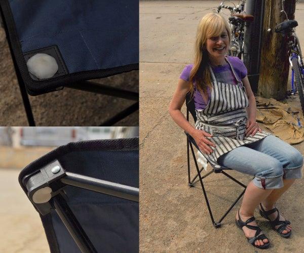 Camp Chair Repair, Using Instamorph