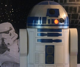 Full Size R2D2 on a budget