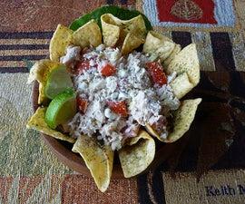 Herbed Tuna Salad Nachos