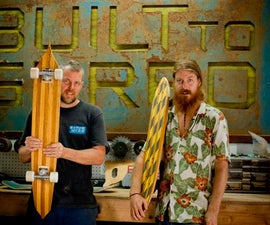 Building Skateboards Out of Wood Waterskis