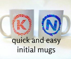 Quick and Easy His and Hers Mugs