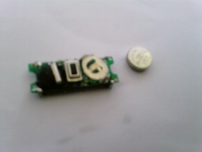 Picture of Remove Old Battery and Insert New One.