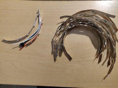 Soldering the LED Strip