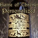 Game of Thrones Personalized Bottle Label