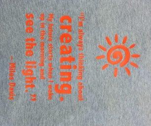 Vinyl-Cut Heat Transfer T-Shirt