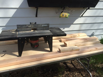Start Laying Out Frame