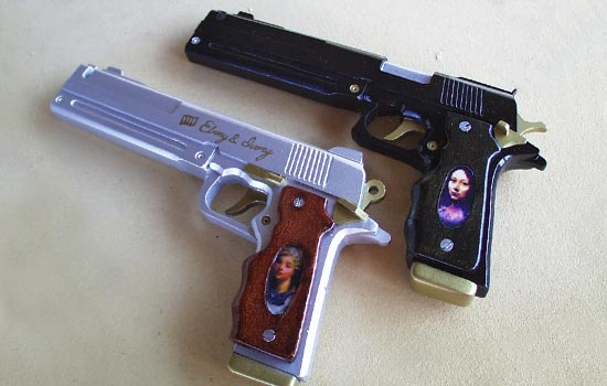 Picture of Laser Cut MDF Cosplay Pistols