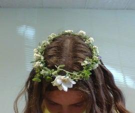 Braided Flower Crown