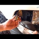 HOW TO REPLACE TURN SIGNAL BULB |DODGE RAM |FRONT CORNER BLINKER REPAIR INDICATOR LIGHT FIX LED 3156