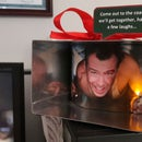 Die Hard Christmas Ornament