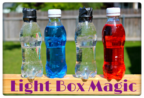Picture of Fill the Bottles With Water. for More Fun Add Food Coloring to Some of the Bottles.