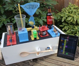 A Raspberry Pi Powered Junk Drum Machine