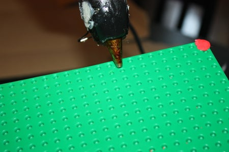 Gluing the Base Plate