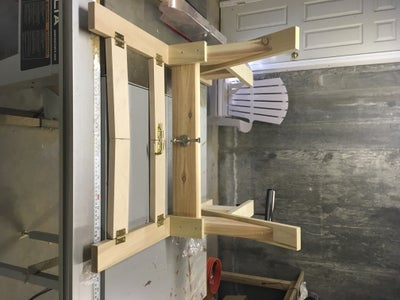 Creating the Crossbeam and Handle