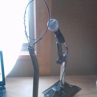 DIY Cheap Microphone Pop Filter