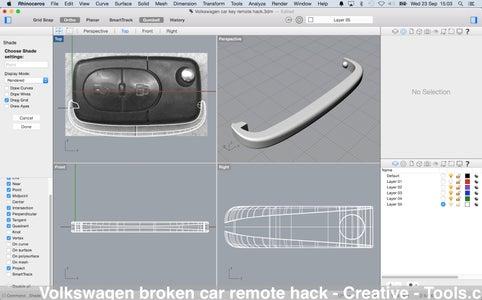 Volkswagen Broken Car Remote Hack