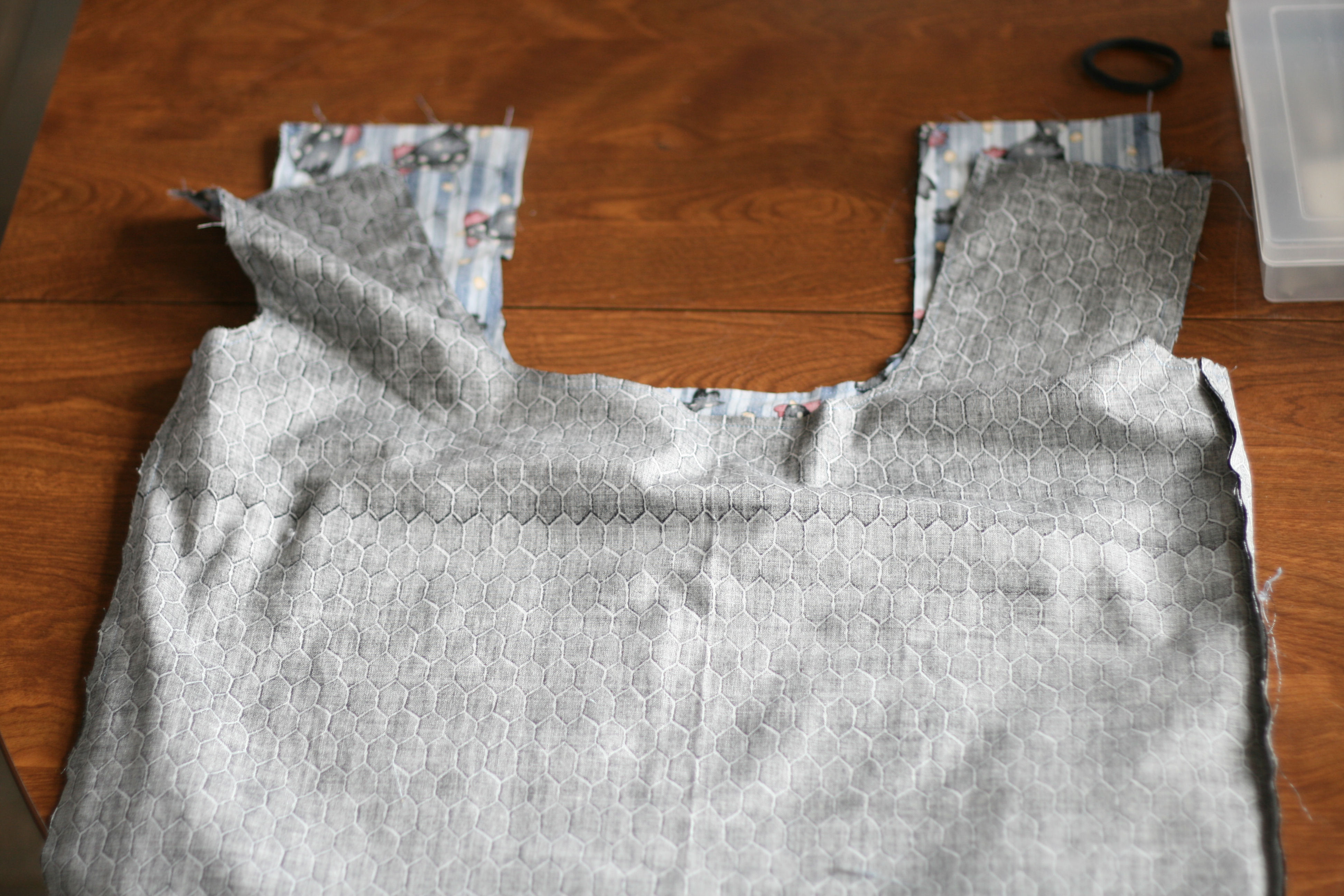 Picture of Sew the Top of the Bag