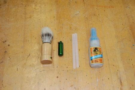Shaving Brush Concealment