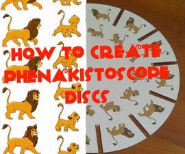 How to create phenakistoscope discs