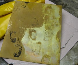 Make pictures with Acid Etching