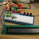 Driving an HD44780 Display using a Shift Register and a Raspberry Pi
