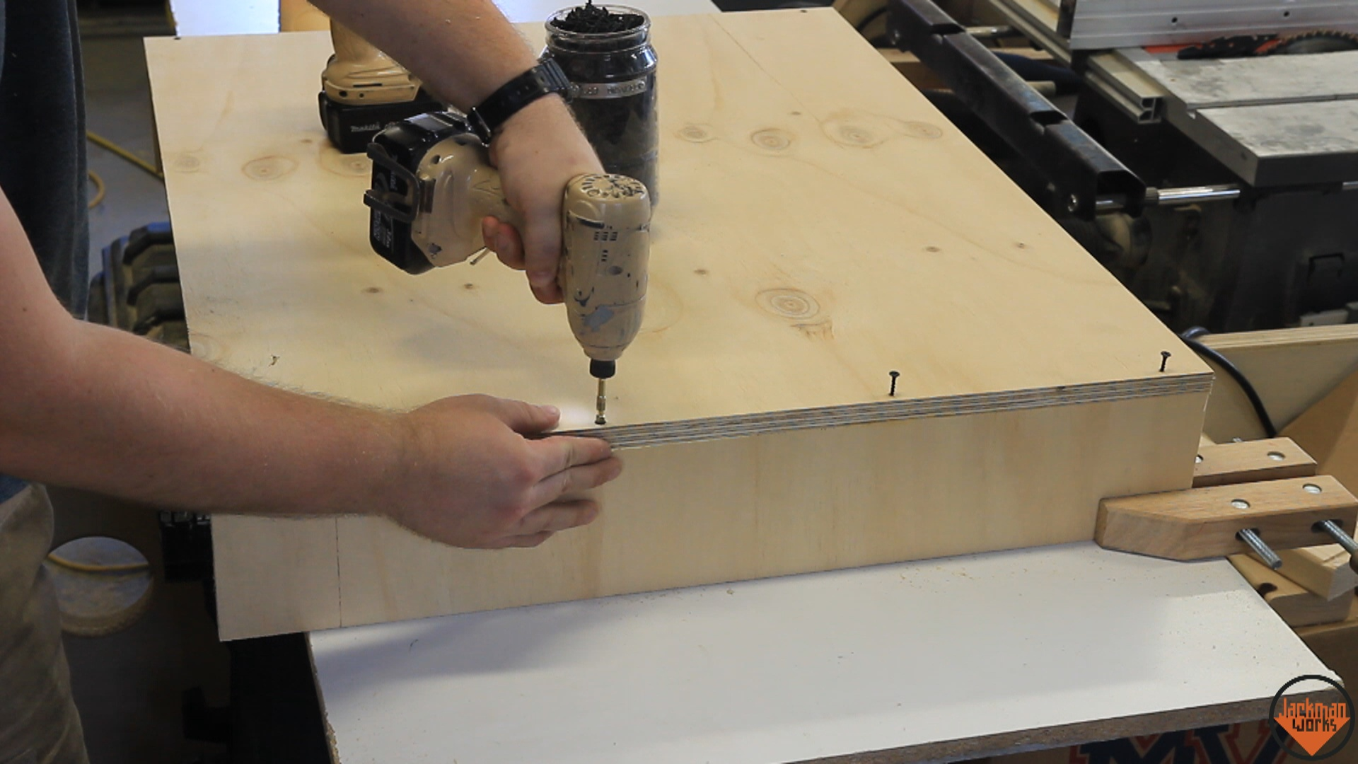 Picture of Sizing the Materials and Assembling the Lower Boxes