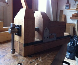 Homemade Bench Oak Carvers Vice (Vise)