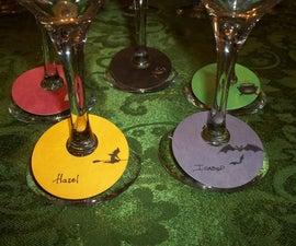Write-On Wine Glass Tags