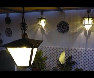 Bright Garden Lights With Low Power
