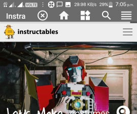 New Android App for Instructables