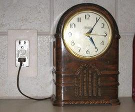 Resurrecting vintage clocks