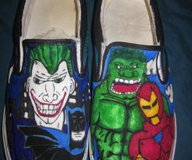 Drawing on Canvas Shoes Guide