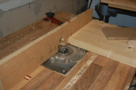 Tenon to Top of Table Legs