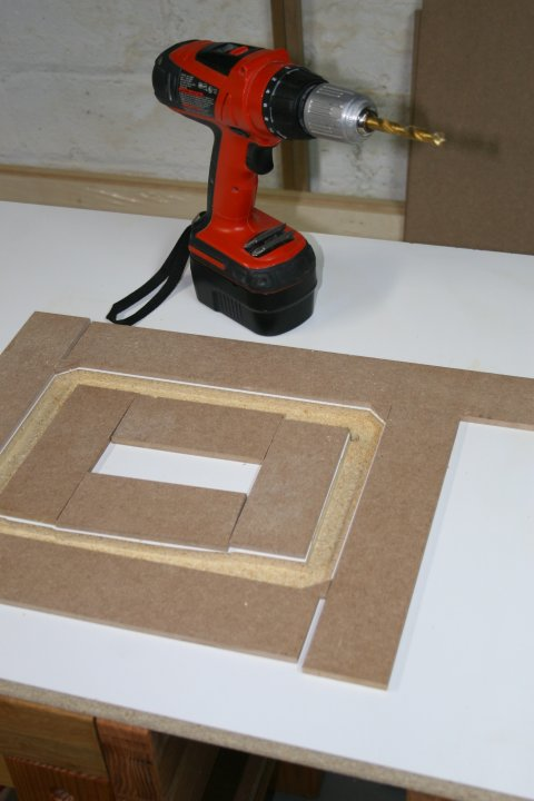 Picture of Cutting the Mortise