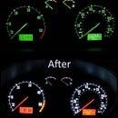 Skoda Fabia mk1 LED dashboard lighting conversion