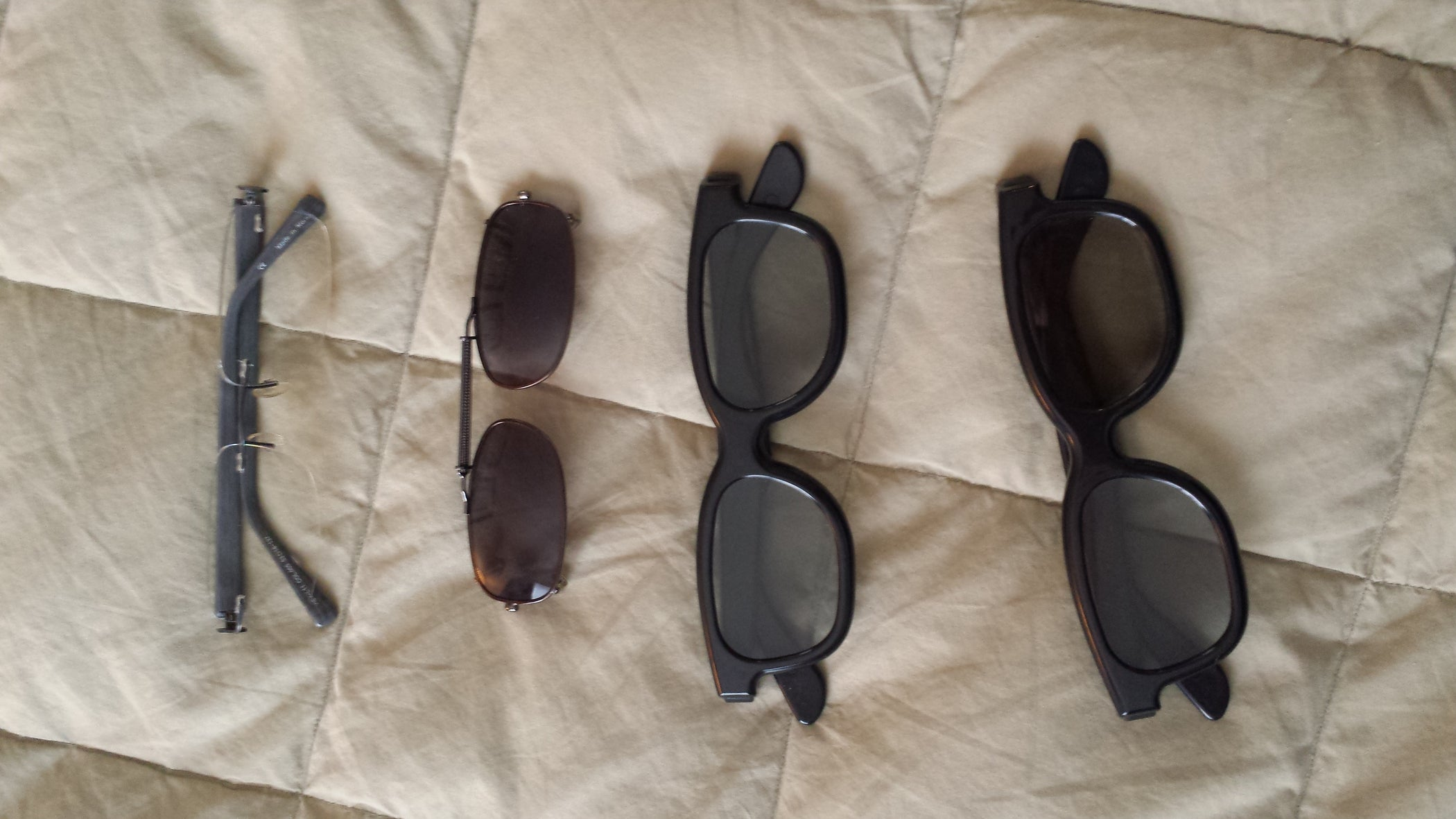 feeb9f8088e69 3D Clips for Prescription Glasses  4 Steps (with Pictures)