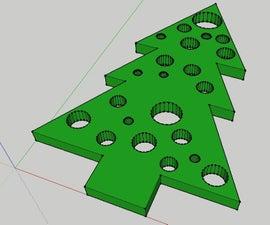 3D Christmas Tree Ornament