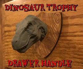 Dinosaur Trophy Drawer Pulls