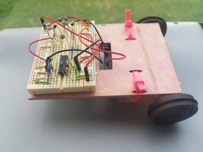 Light-Controlled Robot