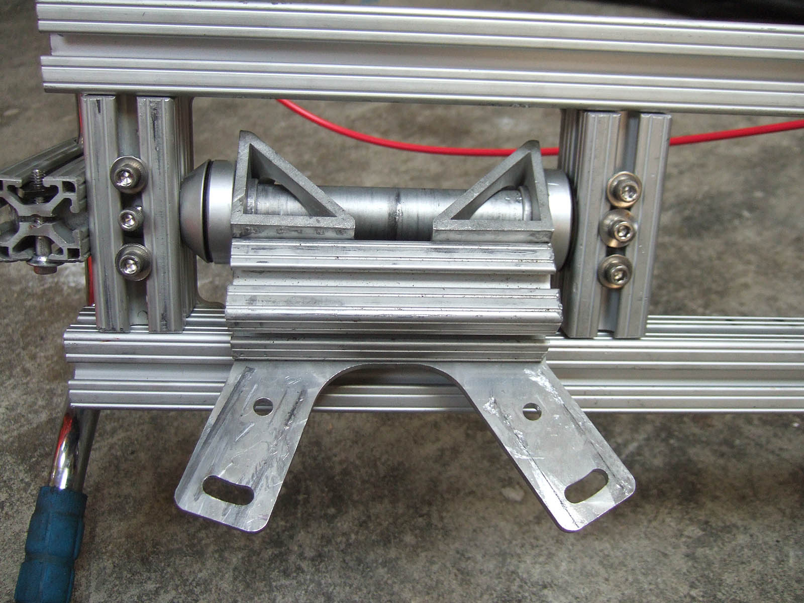 Picture of Attach Top and Downtubes