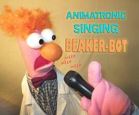 Animatronic Singing Beaker-bot