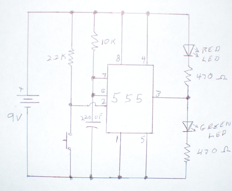 Picture of The Mono-stable Circuit