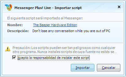 Download the Beeper Script