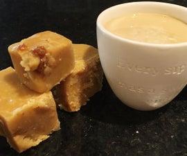 Caramel Latte Fudge