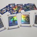 Holographic Custom Pokemon Trading Cards