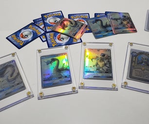 Holographic Custom Pokemon Trading Cards