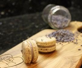 Lavender Macarons   Josh Pan