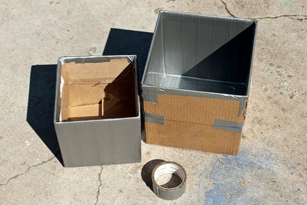 Tape the Boxes